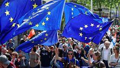 Los nueve candidatos a las elecciones europeas confrontan sus ideas sobre la UE en RTVE