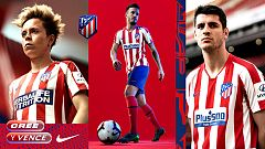 El Atlético de Madrid presenta su nueva camiseta