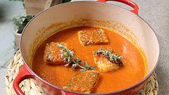 Hacer de comer - Bacalao con tomate y pestiños