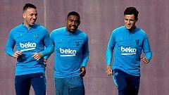 Coutinho y Arthur mejoran mientras Dembélé tiene difícil llegar a la final