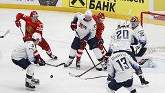 Hockey sobre hielo - Campeonato del Mundo Masculino 2019. Cuartos de final: Rusia-EEUU