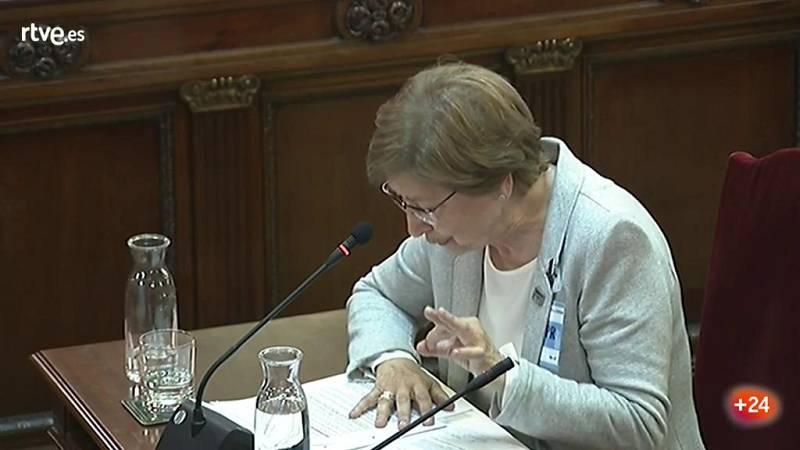 La presidenta de la RAE del catalán refuta la traducción de una frase en la que parece que los Mossos apoyan el 1-O