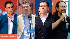 Los candidatos al 26M aceleran sus actos en la recta final de la campaña