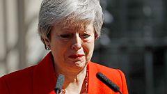Theresa May anuncia que dimitirá el 7 de junio tras no haber podido culminar el 'Brexit'