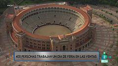 En la plaza de toros de Las Ventas hay trabajo