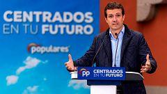 Pablo Casado llama a la movilización en Castilla y León, uno de los feudos del PP