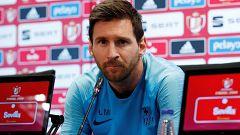 Messi defiende a Valverde