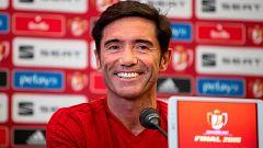 """Marcelino: """"La mayoría de los entrenadores no sabemos cómo parar a Messi"""""""