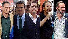 """Los partidos enfrentan """"avance"""" y """"contrapeso"""" en un cierre de campaña en clave nacional"""
