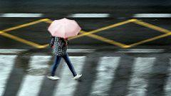 Lluvias persistentes en Pirineos, y fuertes en Cataluña y Baleares