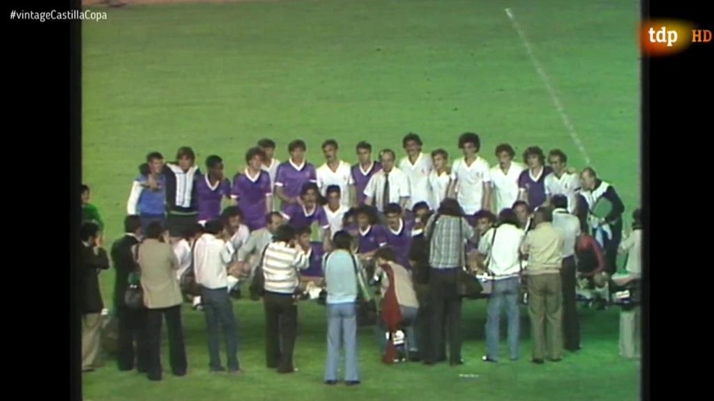 Conexión Vintage La Final De Copa Real Madrid Castilla De 1980 En El Bernabéu Rtve Es