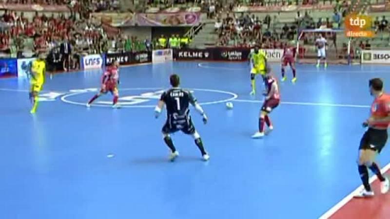 Bingyoba roza el empate golpeando el larguero (1-0)