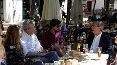 Relajada jornada de reflexión de los candidatos a las elecciones europeas
