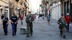La policía difunde nuevas imágenes del sospechoso del ataque en Lyon