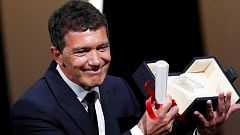 Antonio Banderas, mejor actor en Cannes por 'Dolor y Gloria'