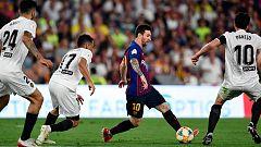 Jugadón de Messi que a punto estuvo de recortar diferencias