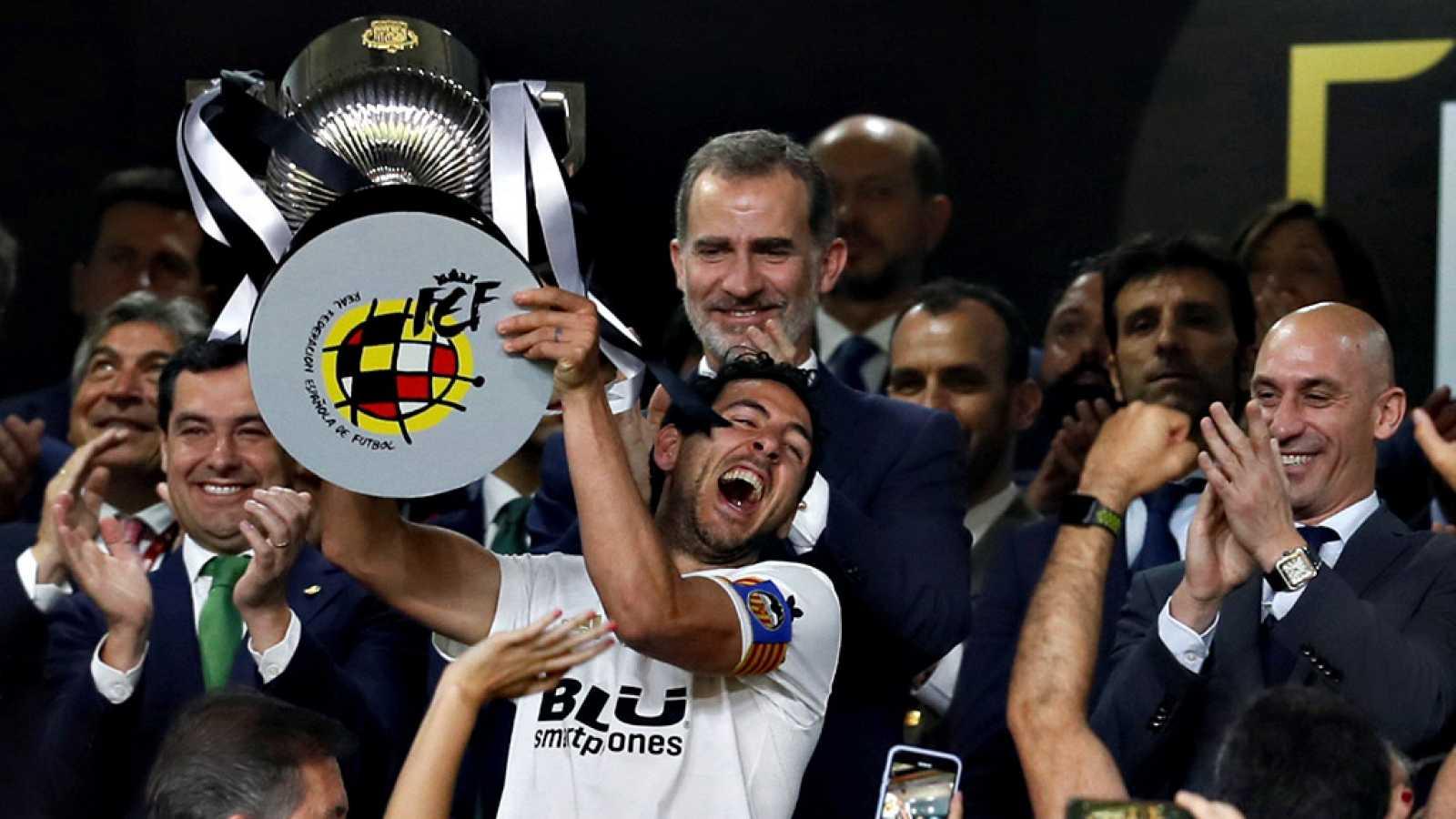 Final Copa Del Rey 2019 El Valencia Gana Al Barca 2 1 Rtve Es