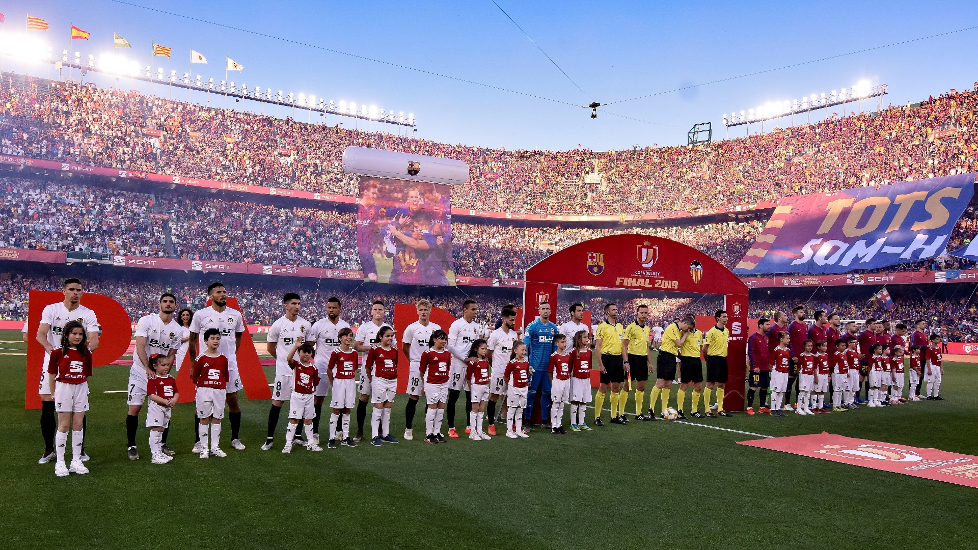 Futbol - Final Copa del Rey 2019 - F.C. Barcelona - Valencia C.F. ...