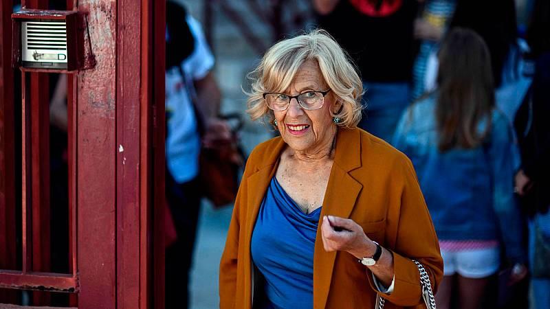 """Carmena pide que """"nadie se quede en casa"""" porque """"la forma más importante de cuidar la democracia es participar"""" en las elecciones"""