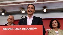 Sánchez pide a PP y Ciudadanos que no pacten con Vox y levanten el cordón sanitario al PSOE