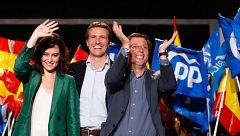 """Díaz Ayuso dice que hablará """"con todos los partidos"""" que """"quieran que las izquierdas no regresen"""" a Madrid"""