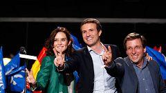 """Casado: """"El Partido Popular ya ha iniciado la remontada. Hemos vuelto"""""""