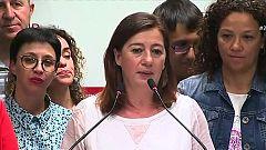 """Armengol revalida el Govern en Baleares: """"Es histórico"""""""