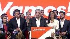 Garicano celebra el resultado de Ciudadanos en las europeas, que pasa de 2 a 7 diputados