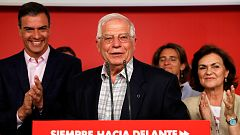 Borrell celebra la victoria del PSOE en las europeas y destaca la tradición profundamente europeísta del partido
