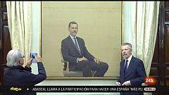 Parlamento - El reportaje - Cuadro de Felipe VI en el Congreso - 26/05/2019