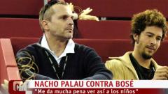 Corazón - Nacho Palau estalla contra Miguel Bosé