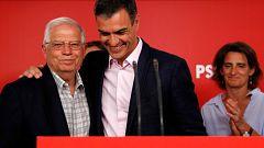 El PSOE arrasa en las europeas, que dan escaños a Junqueras y Puigdemont