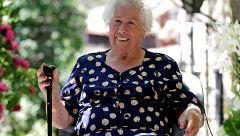La abuela de Patones de Arriba reivindica un aparcamiento