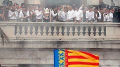 El Valencia presenta la Copa a la patrona y las autoridades locales