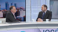 Los desayunos de TVE - José Luis Ábalos, ministro de Fomento en funciones y secretario de Organización del PSOE