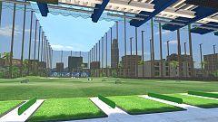 Así es el campo de prácticas en Everybody's Golf VR