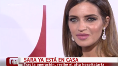 Corazón - Sara Carbonero recibe el alta