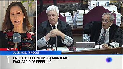 La fiscalia mantindrà l'acusació de rebel·lió pels liders del procés