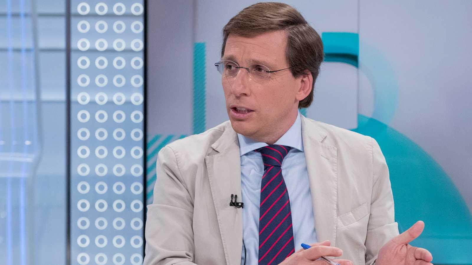 """Martínez-Almeida: lo más """"razonable"""" es que PP y Cs gobiernen el Ayuntamiento de Madrid con el """"apoyo"""" de Vox"""