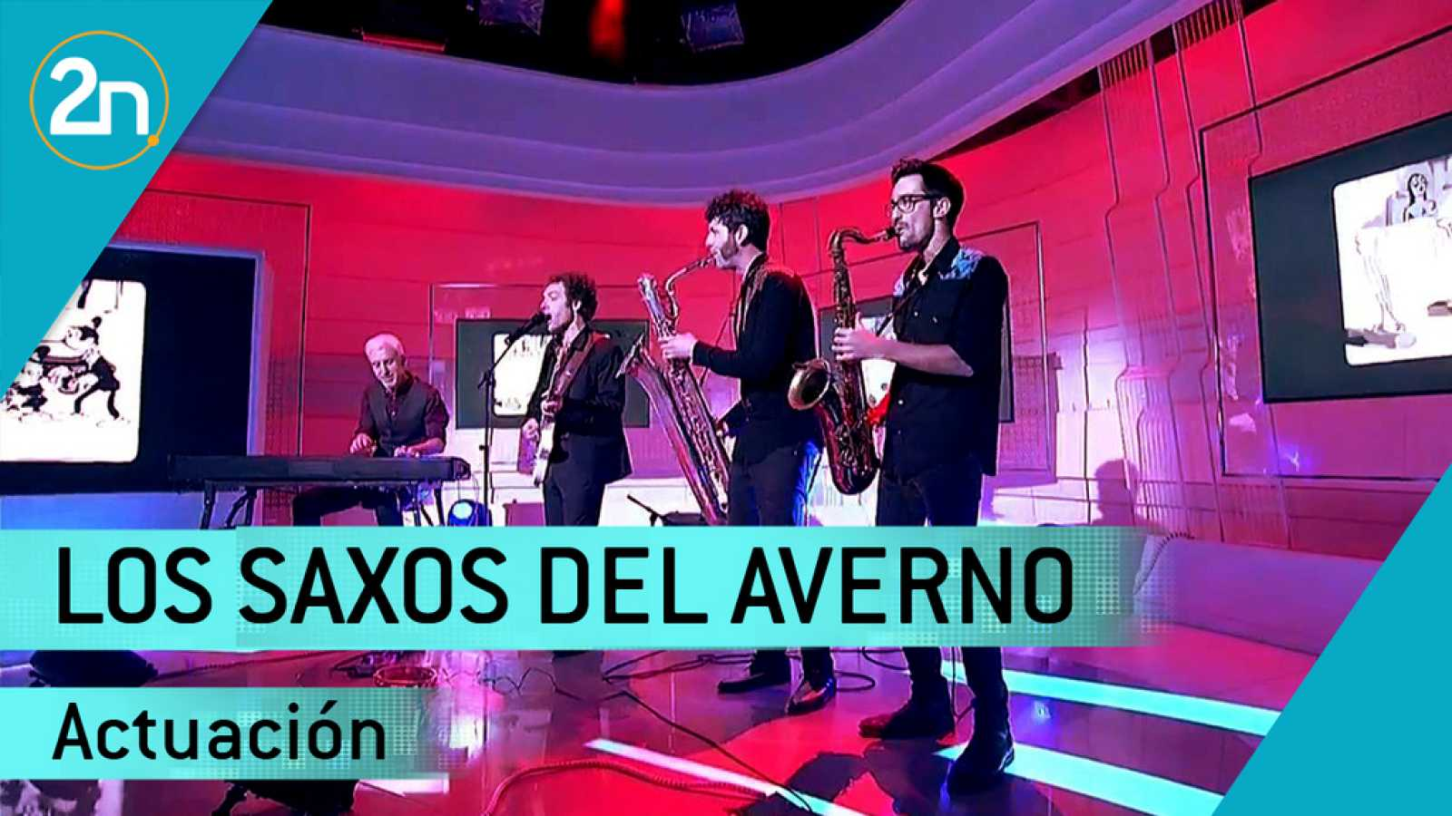 "Los Saxos Del Averno interpretan ""Voodoo Shoes"""