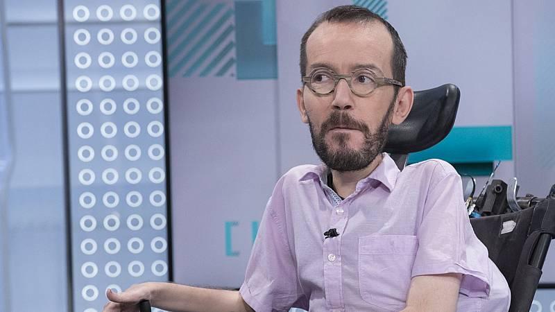 """Echenique admite la """"debilidad territorial"""" en Podemos como causante de los """"muy malos resultados"""" del 26M"""