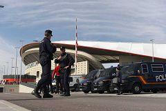 La policía blinda el Metropolitano para garantizar la seguridad de la final de la Champions