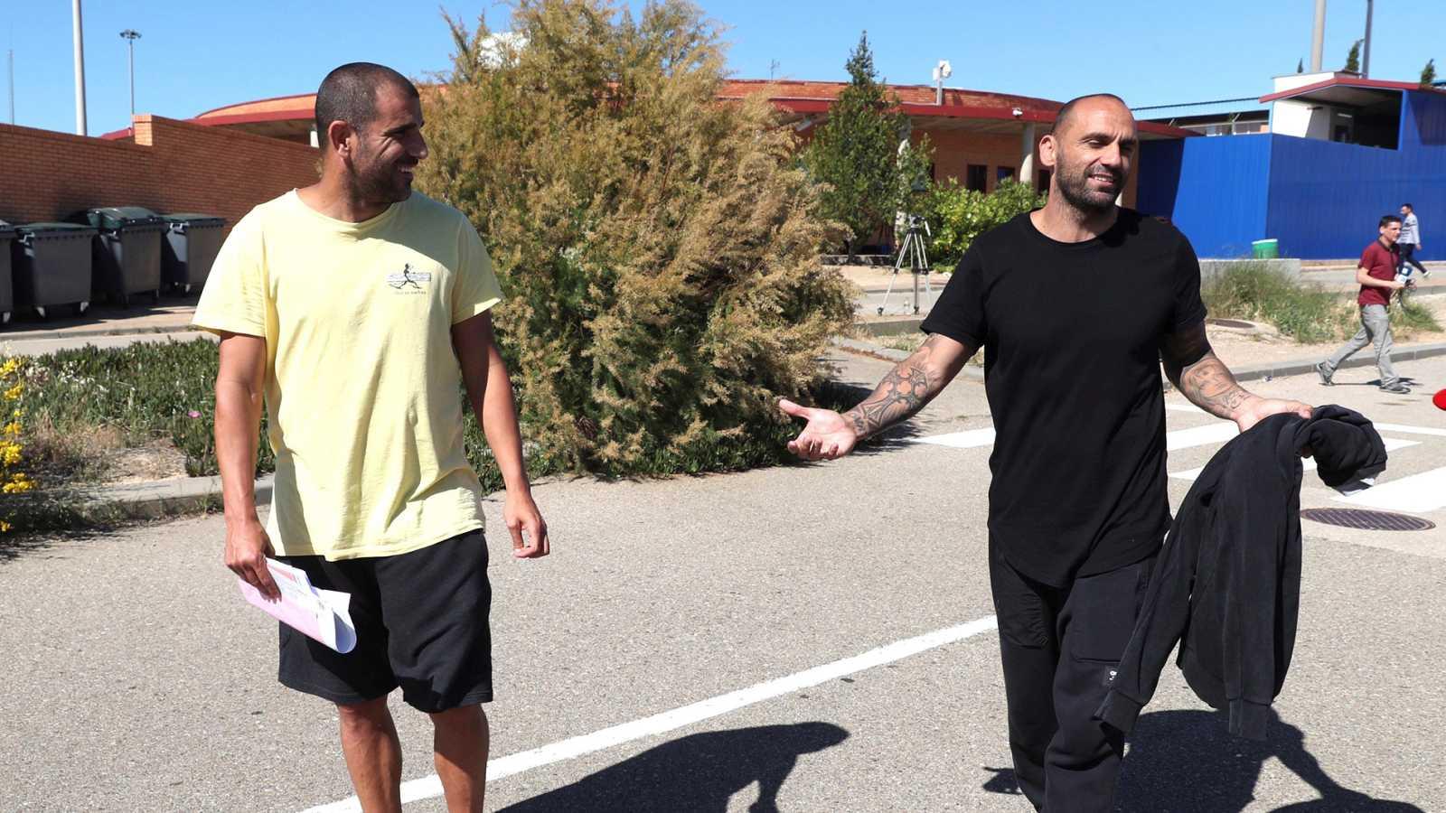 Aranda y Bravo abandonan la prisión de Zuera tras abonar sus fianzas