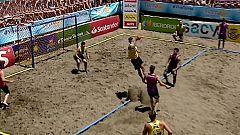 Balonmano Playa - Copa de España. Final Masculina: BHCE Plan B-XP S. - Pinturas Andalucía BMP S.
