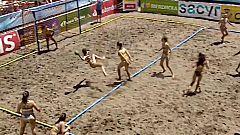 Balonmano Playa - Copa de España. Final Femenina: Llopis BM Sevilla - Marujalimón-Agerul BMP Utrera