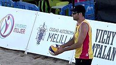 Voley playa - Madison Beach Voley Tour 2019. Final Masculina