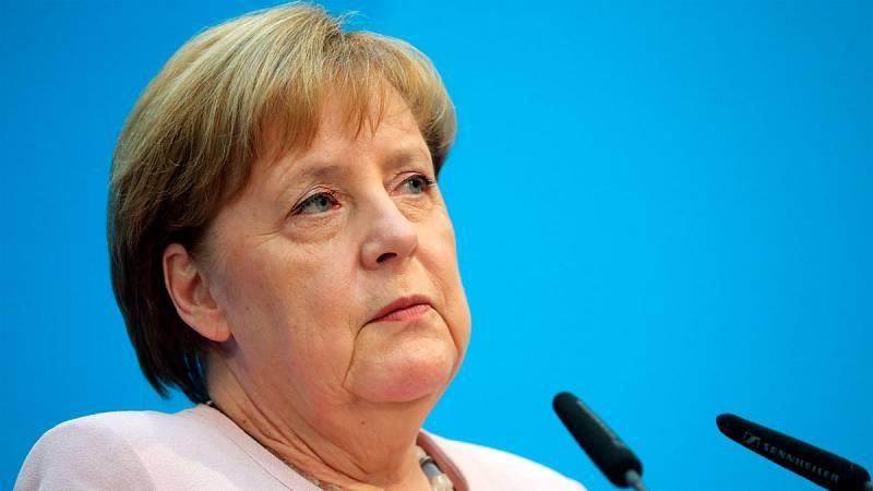 Merkel espera que la dimisión de Nahles al frente del SPD no afecte al gobierno de coalición
