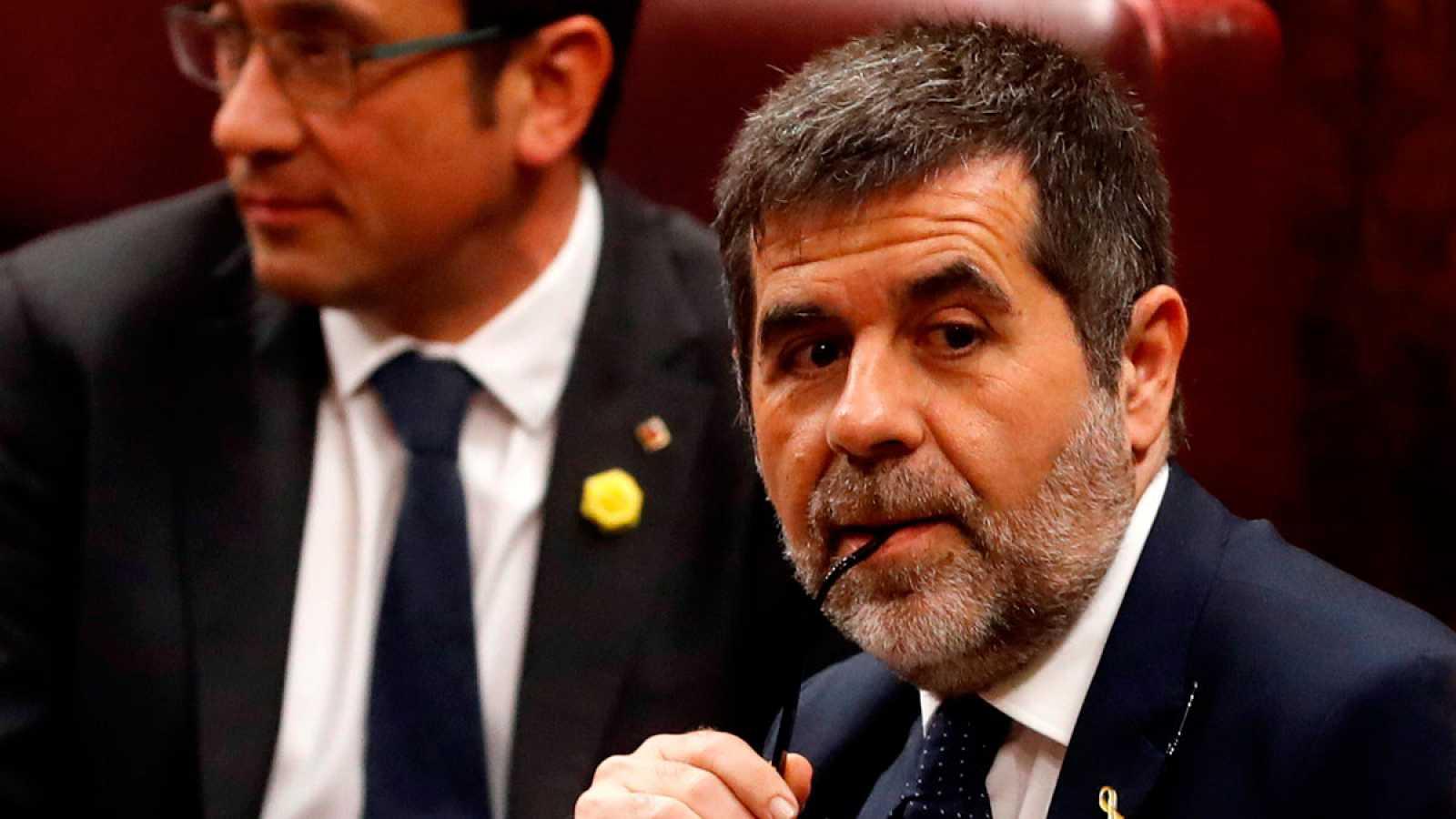 El Supremo rechaza concederle el permiso extraordinario a Jordi Sànchez para acudir a  las consultas con el rey