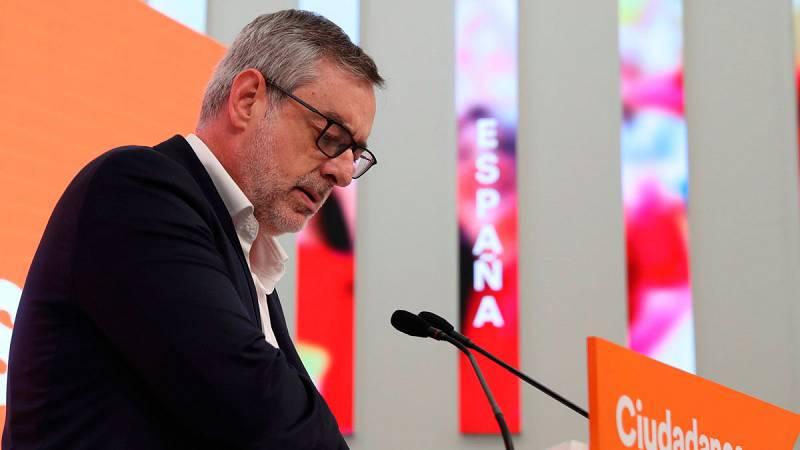 Ciudadanos dice que no negociará pactos que incluyan a Vox, a Podemos, o a los nacionalistas