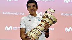 """Richard Carapaz: """"Si el equipo INEOS quiere apostar por mí, estoy abierto a ello"""""""